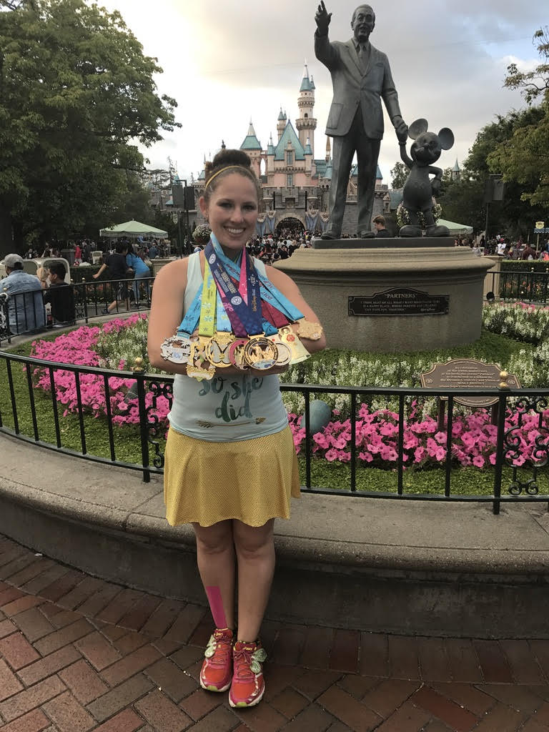 Winning multiple medals has proven Emeri's consistency to her collection has paid off.